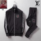 men sportswear louis vuitton tracksuits Tracksuit sweatshirt junior cotton
